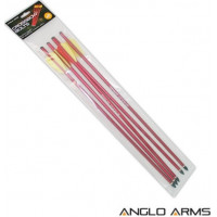 """12 x 6.5/"""" Aluminium Pistol Crossbow Bolts  Zombie Green Bolts Anglo Arms"""