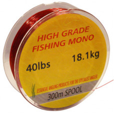 40LB RED AE FISHING LINE, 300M SPOOL