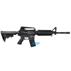 HellBoy M4 CO2 Tactical Air Rifle Black 4.5mm Steel BB 18 shot