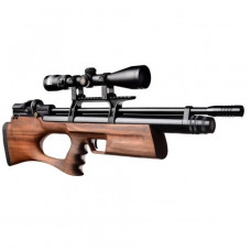 KRAL Breaker BULLPUP PCP Pre Charged Air Rifle .177 calibre 14 shot Turkish walnut thumbhole stock