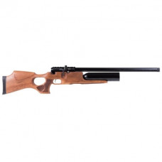 KRAL Puncher JUMBO PCP Pre Charged Air Rifle .177 calibre 14 shot Turkish walnut thumbhole stock