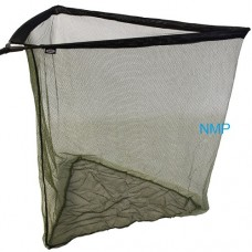 42 inch Specimen Landing Net Two-Tone Mesh with Metal V Block and Stink Bag NGT