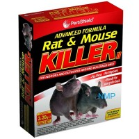 Pestshield Advanced Formula Rat & Mouse Killer 2 x 20g Refill Sachets