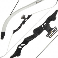 40lb Draw White Tournament Archery Recurve Bow (RB001)
