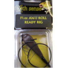 Sixth Sense Ready Made Carp Rigs ANTI-ROLL BROWN 2.5oz