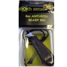 Sixth Sense Ready Made Carp Rigs ANTI-ROLL BROWN 4oz