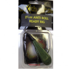 Sixth Sense Ready Made Carp Rigs ANTI-ROLL GREEN 2.5oz