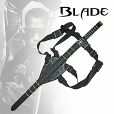 Single Straight Blade Sword With Back Straps (KS-BS014177)