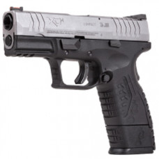 Springfield Armoury XDM 3.8 inch Two tone Black-Silver CO2 pistol 4.5mm BB