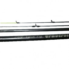 11ft 3pc Eurostar traverse UK Twin Tip rod Fibre Glass, extra £10.00 of price when collected from store