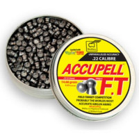 Webley AccuPell FT Field Target Competition Domed head .22 calibre Air Gun Pellets 5.53mm 14.66 grains tin of 500