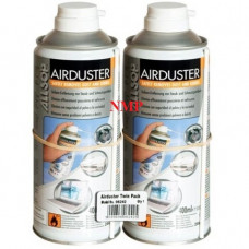 ALLSOP Spray duster (sensitive electronic equipment cleaner) Disposable Can with Extension tube 400ml twin pack