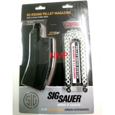 30 Round .177 MPX, MCX Spare Magazine with 3 x 30 shot pellet belts by Sig Sauer