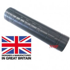 1/2 inch UNF Thread VIPER P Black Slim Pistol airgun silencer Flat Bull Barrel unproofed Made in UK suits SIG SAUER P226 pellet pistol